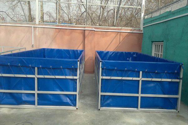 استخر های قابل حمل پرورش ماهی (پرتابل)