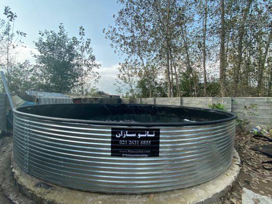 استخر پرورش ماهی تیپ سه در گیلان